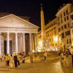 Экскурсии в Италии — Рим ночью