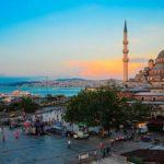Город Самбул в Турции