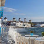 Курорт Миконос в Греции