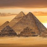 Пирамиды Гизы в Египте