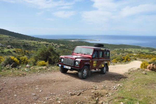 джип-сафари в греции