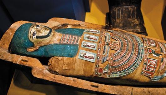 Египет вернул половину артефактов