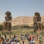 Колоссы Мемнона в Луксоре (Египет)