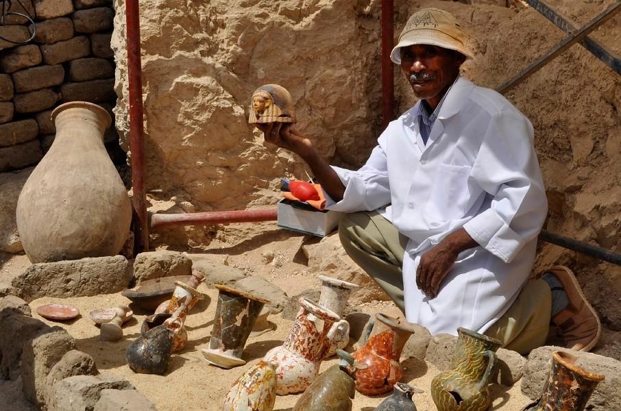 В Египте обнаружен некрополь