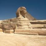Достопримечательности Египта —  Большой Сфинкс