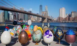 Пасхальные яйца в Нью-Йорке