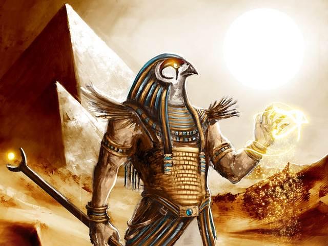 Древний египетский бог