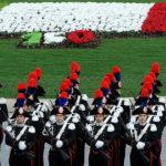 Итальянцы отметили Ночь триколора яркими цветами