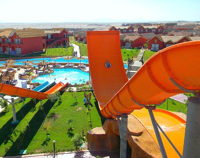 аквапарк Хургады