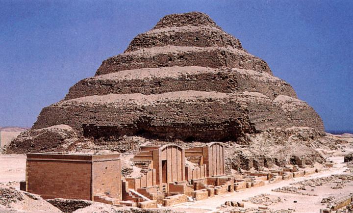 Пирамида, построенная Имхотепом