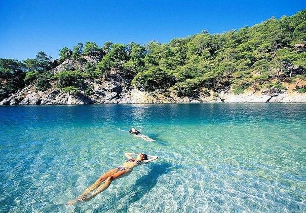 лучшее море в Турции