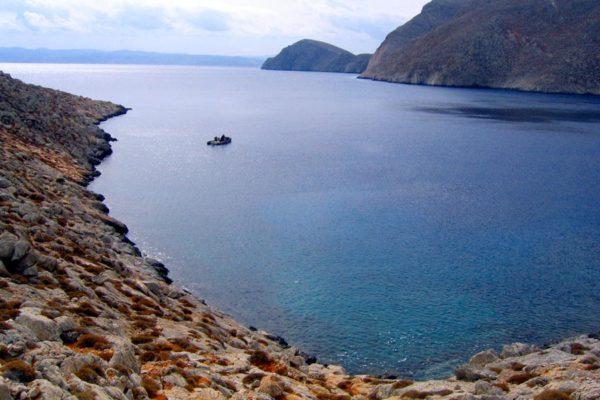 пляжи острова Диа