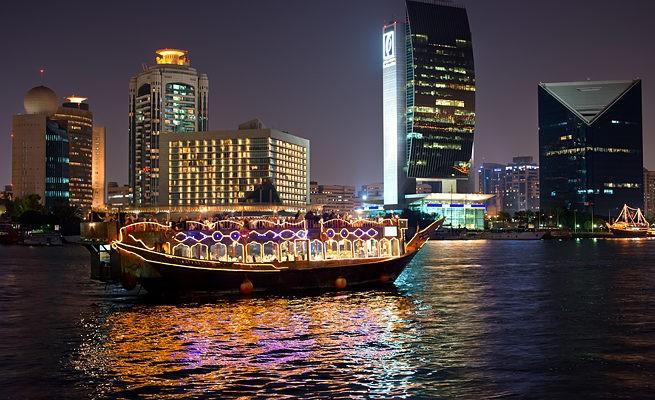 Круиз по ночному заливу