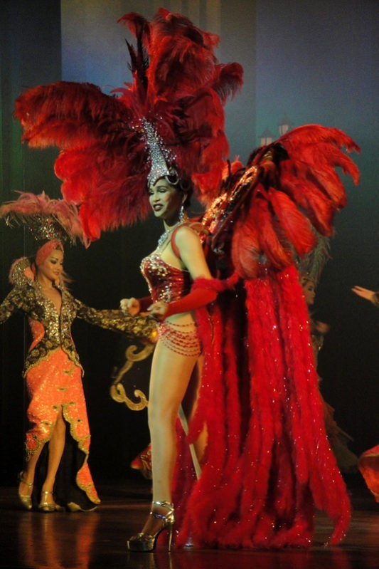 Тайланд тиффани шоу шоу трансвеститов герои
