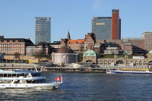 Гамбург, городская Ратуша