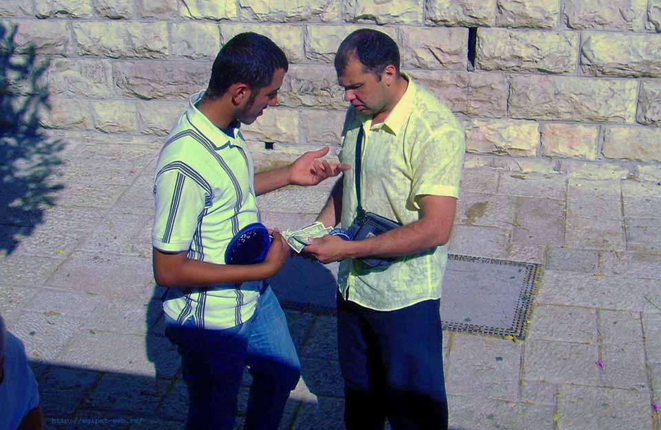 развод туристов на деньги в Египте