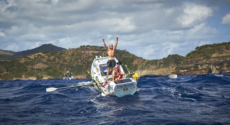 переход через Атлантику в безмоторной лодке