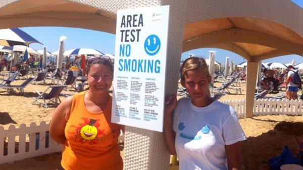 пляж для некурящих В Италии