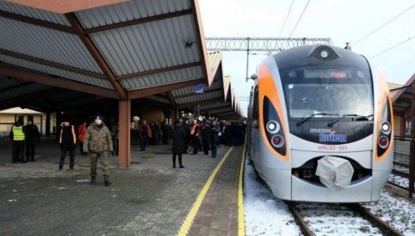 поезд Львов – Перемышль