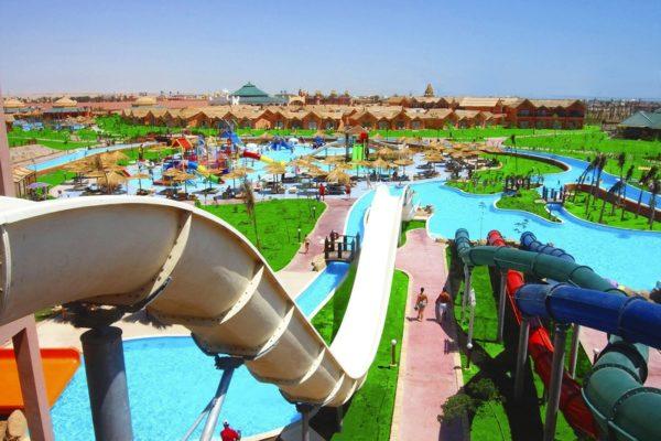 аквапарк в Хургаде