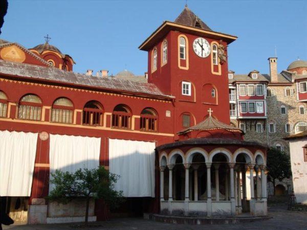 Курорт Ватопеди
