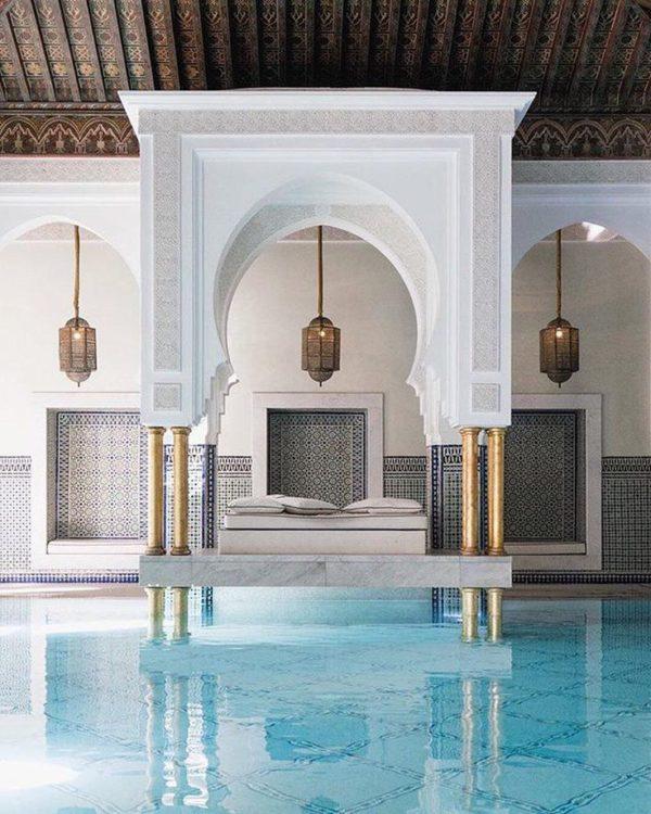 марокканская баня в ОАЭ
